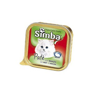 Консервы Simba Petfood Cat Pate with Meat с мясом паштет для кошек 100г