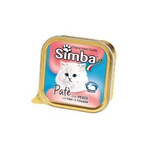 Консервы Simba Petfood Cat Pate with Fish с рыбой паштет для кошек 100г морепродукты рыба