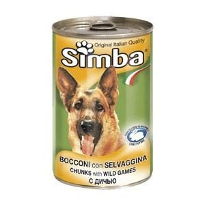 Консервы Simba Petfood Dog Chunks with Wild Game с дичью кусочки для собак 415г