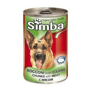 Консервы Simba Petfood Dog Chunks with Meat с мясом кусочки для собак 415г доктор клаудер консервы с мясом для кошек dr clauder's premium cat food meat 415 г