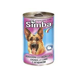 Консервы Simba Petfood Dog Chunks with Lamb с ягненком кусочки для собак 415г simba simba гитара hello kitty 6 36