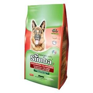 Сухой корм Simba Petfood Dog Croquettes with Beef с говядиной для собак 4кг