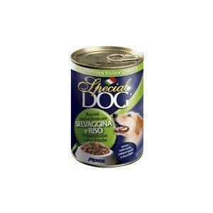 Консервы Special Dog Chunks with Wild Game and Rice с дичью и рисом кусочки для собак 400г