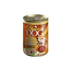 Консервы Special Dog Pate with Chicken and Rabbit с курицей и кроликом паштет для собак 400г