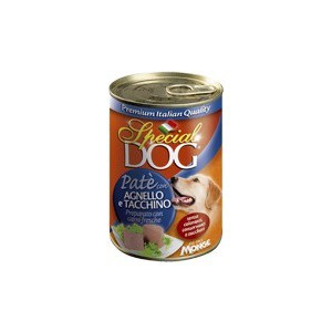 Консервы Special Dog Pate with Lamb and Turkey c ягненком и индейкой паштет для собак 400г