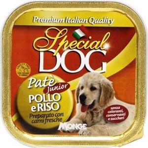 Консервы Special Dog Puppy Pate with Chicken and Rice с курицей и рисом паштет для щенков 150г