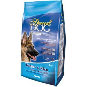 Сухой корм Special Dog Tuna and Rice с тунцом и рисом для собак с чувствительной кожей и пищеварением 4кг