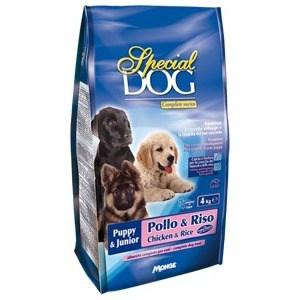 Сухой корм Special Dog Puppy Chicken and Rice с курицей и рисом для щенков 4кг