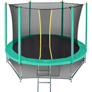 Батут Hasttings Classic Green (2,44 м) /8FT с сеткой батут sport elite 8ft 2 44 м