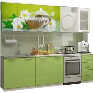 Кухня Миф Ванильный чай 2,0 м с фотопечатью МДФ