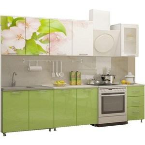 Кухня Миф Яблоневый цвет 2,0 м с фотопечатью МДФ цены