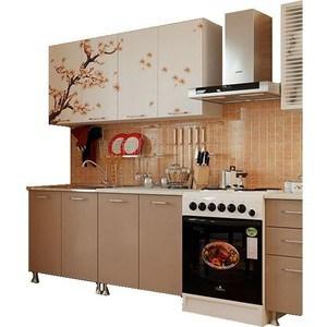 Кухня Миф Сакура 2,0 м с фотопечатью МДФ