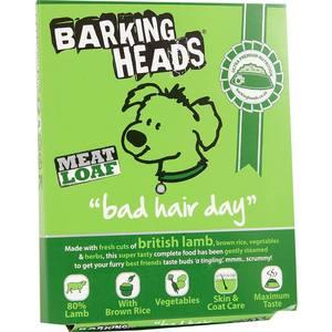 Консервы BARKING HEADS Adult Dog Meat Loaf Bad Hair Day with British Lamb с британским ягненком роскошная шевелюра для собак 400г (19499/13248/45201) фурминатор для собак короткошерстных пород furminator short hair large dog