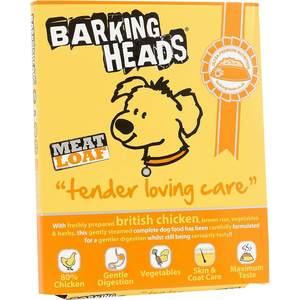 Консервы BARKING HEADS Adult Dog Meat Loaf Tender Lovind Care with British Chicken с британской курицей нежная забота для собак 400г (19501/0728/45202)