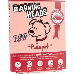 Консервы BARKING HEADS Adult Dog Meat Loaf Fusspot with Atlantic Salmon с атлантическим лососем суета вокруг миски для собак 400г (19502/0735/45203) meat loaf meat loaf bat out of hell 180 gr