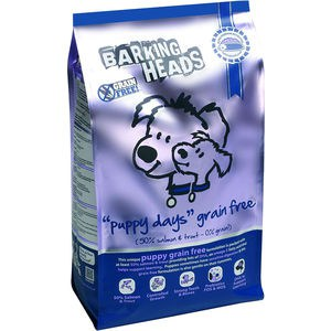 Сухой корм BARKING HEADS Puppy Days Grain Free with Salmon &Trout беззерновой с лососем и форелью для щенков 12кг (0810/18140) free shipping lamtop 180 days warranty projector lamp with housing poa lmp127 610 339 8600 for lc xs25