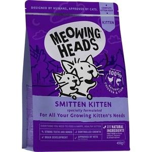 Сухой корм BARKING HEADS Kitten's Delight For Kittens & Young Cats with Chicken с курицей для котят и молодых кошек 1,5кг (2449/20582) temptations mixups surfers delight flavor treats for cats pouch mega bag