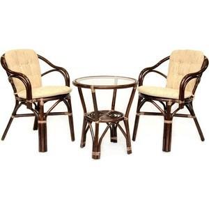 Фотография товара комплект кофейный EcoDesign Patio 02/13 Б (стол+2 кресла) (677077)