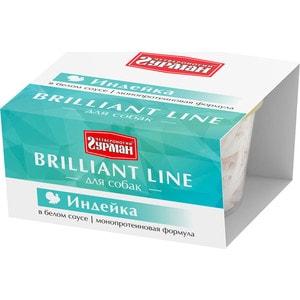 Консервы Четвероногий гурман Brilliant Line индейка в белом соусе для собак 100г