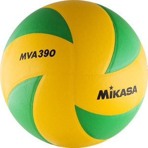 Мяч волейбольный Mikasa MVA390CEV (р.5) цена и фото