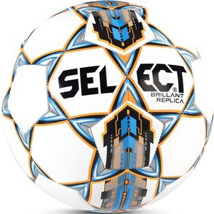 Мяч футбольный Select Brillant Replica 811608-002 р.4 (дизайн 2017г.) мяч select talento 4 2015