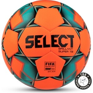 Мяч футбольный Select Brillant Super FIFA TB YELLOW 810316-552 р.5 футбольный мяч select super league амфр рфс fifa 850717