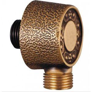Подключение душевого шланга ZorG Antic бронза (AZR 4 BR) держатель стакана двойной zorg antic бронза azr 04 br