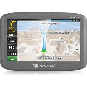 GPS навигатор Navitel G500 junsun 7 inch car gps navigation android bluetooth wifi russia navitel europe map truck vehicle gps navigator sat nav free map