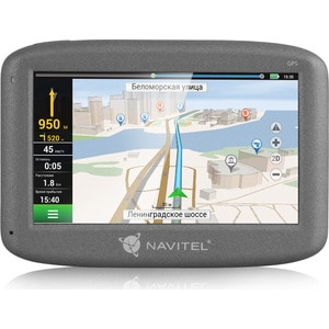 GPS навигатор Navitel N400 junsun 7 inch car gps navigation android bluetooth wifi russia navitel europe map truck vehicle gps navigator sat nav free map