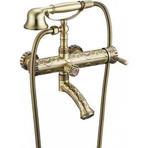 Смеситель для ванны ZorG Antic бронза (A 100W-BR) смеситель для ванны zorg mlada zr 116 w