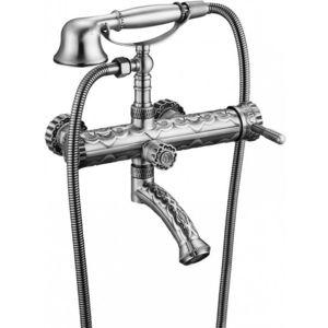 Смеситель для ванны ZorG Antic серебро (A 100W-SL) смеситель для ванны zorg mlada zr 116 w
