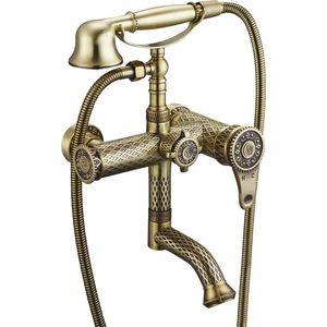 Смеситель для ванны ZorG Antic бронза (A 400W-BR) смеситель для ванны zorg mlada zr 116 w