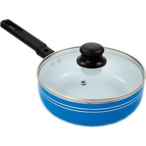 Сковорода d 20 см с крышкой и съемной ручкой Добрыня (DO-5009) телевизор supra stv lc32t700wl