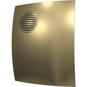 Вентилятор DiCiTi осевой вытяжной с обратным клапаном D 100 декоративный (PARUS 4C champagne)