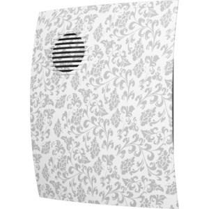 Вентилятор DiCiTi осевой вытяжной с обратным клапаном D 100 декоративный (PARUS 4C white design) спот favourite glocke 1583 3c