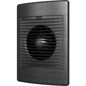 Вентилятор DiCiTi осевой вытяжной с обратным клапаном D125 декоративный (STANDARD 5C black Al) вентилятор осевой d125 мм era pro 5