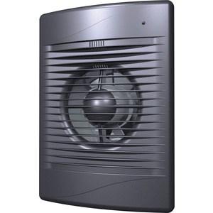 Вентилятор DiCiTi осевой вытяжной с обратным клапаном D125 декоративный (STANDARD 5C dark gray met) вентилятор осевой d125 мм era pro 5