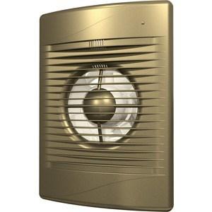 Вентилятор DiCiTi осевой вытяжной с обратным клапаном D125 декоративный (STANDARD 5C champagne) вентилятор осевой d125 мм era pro 5