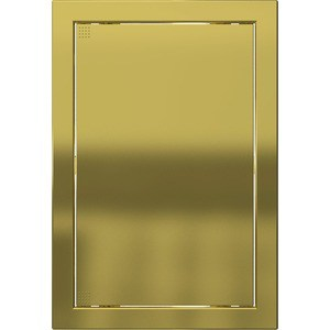 Люк-дверца EVECS ревизионная 168х218 с фланцем 146х196 ABS декоративный (Л1520 Gold) все цены