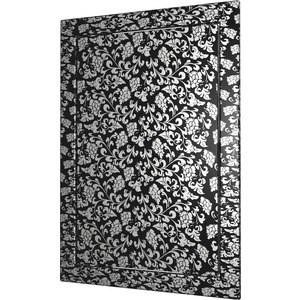 Люк-дверца EVECS ревизионная 218х218 с фланцем 196х196 ABS декоративный (Л2020 black design) car vent style abs electroplating stickers set silver black