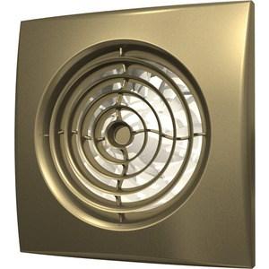 Вентилятор DiCiTi осевой вытяжной с обратным клапаном D 100 декоративный (AURA 4C champagne)