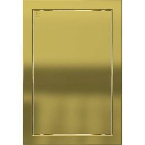 Люк-дверца EVECS ревизионная 218х218 с фланцем 196х196 ABS декоративный (Л2020 Gold) все цены
