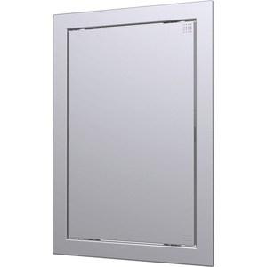 Люк-дверца EVECS ревизионная 218х418 с фланцем 196х396 ABS декоративный (Л2040 gray metal) ruru15070 to 218