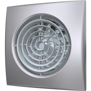 Вентилятор DiCiTi осевой вытяжной  обратным клапаном  125 декоративный (AURA 5C gray metal)
