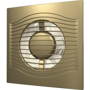 Вентилятор DiCiTi осевой вытяжной с обратным клапаном D 100 декоративный (SLIM 4C champagne)