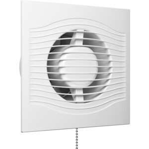 Вентилятор DiCiTi осевой вытяжной со шнуровым тяговым выключателем D 125 (SLIM 5-02) вентилятор auramax осевой вытяжной со шнуровым тяговым выключателем d 125 optima 5 02