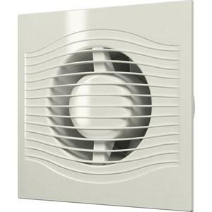 Вентилятор DiCiTi осевой вытяжной с обратным клапаном D 125 декоративный (SLIM 5C Ivory)