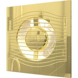 Вентилятор iCiTi осевой вытяжной с обратным клапаном декоративный (SLIM 5C Gold)