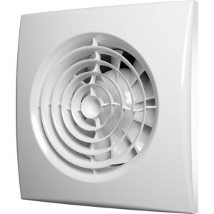 Вентилятор DiCiTi осевой вытяж.мультиопционный с контроллером Fusion Logic 1.1 обр.клапан D125 (AURA 5C MRH)