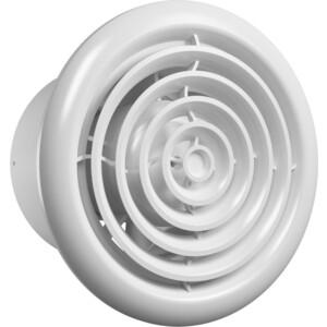 Вентилятор Era осевой с обратн. клапаном круглой решеткой двигателем на ш/подшип D 100 (FLOW 4 C BB) площадка торцевая с решеткой d 120 п 120птмр